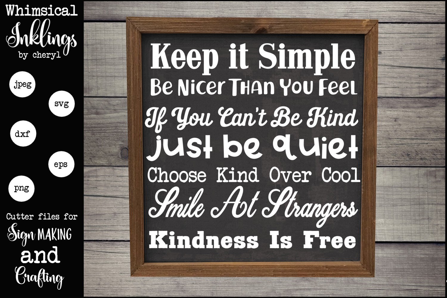 Kindness Is Free SVG example image 1