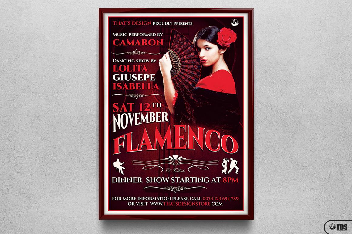 Flamenco Flyer Template V2 example image 6