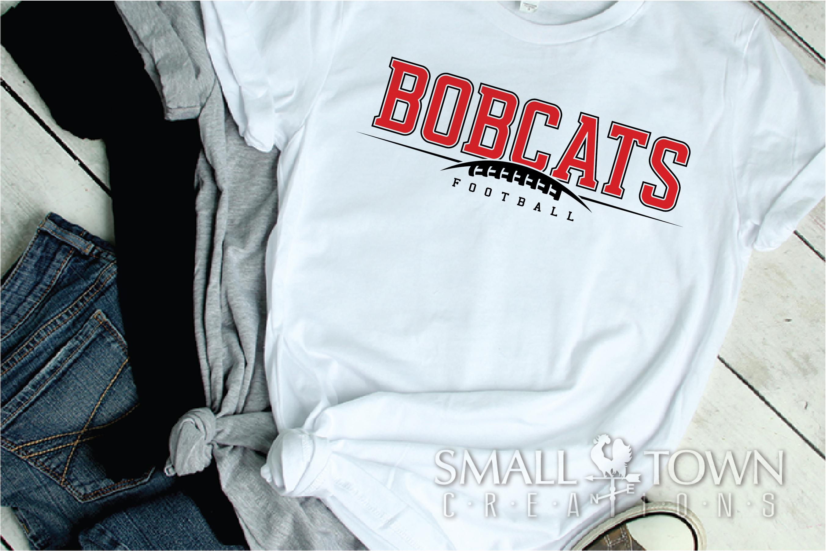 Bobcat football, Football, Sport, Team, PRINT, CUT & DESIGN example image 2