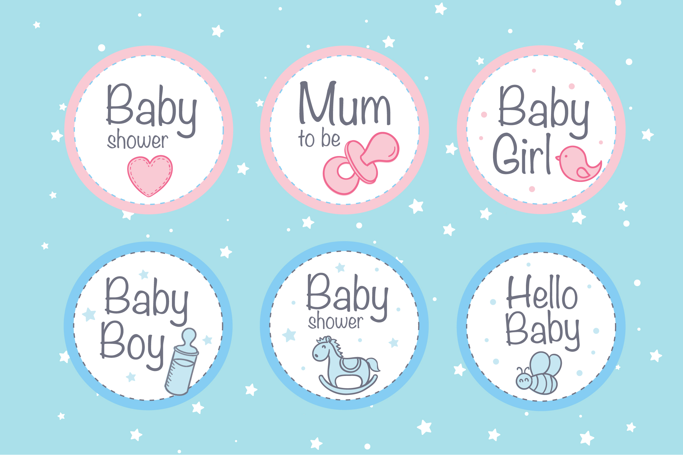 Baby Badges example image 1