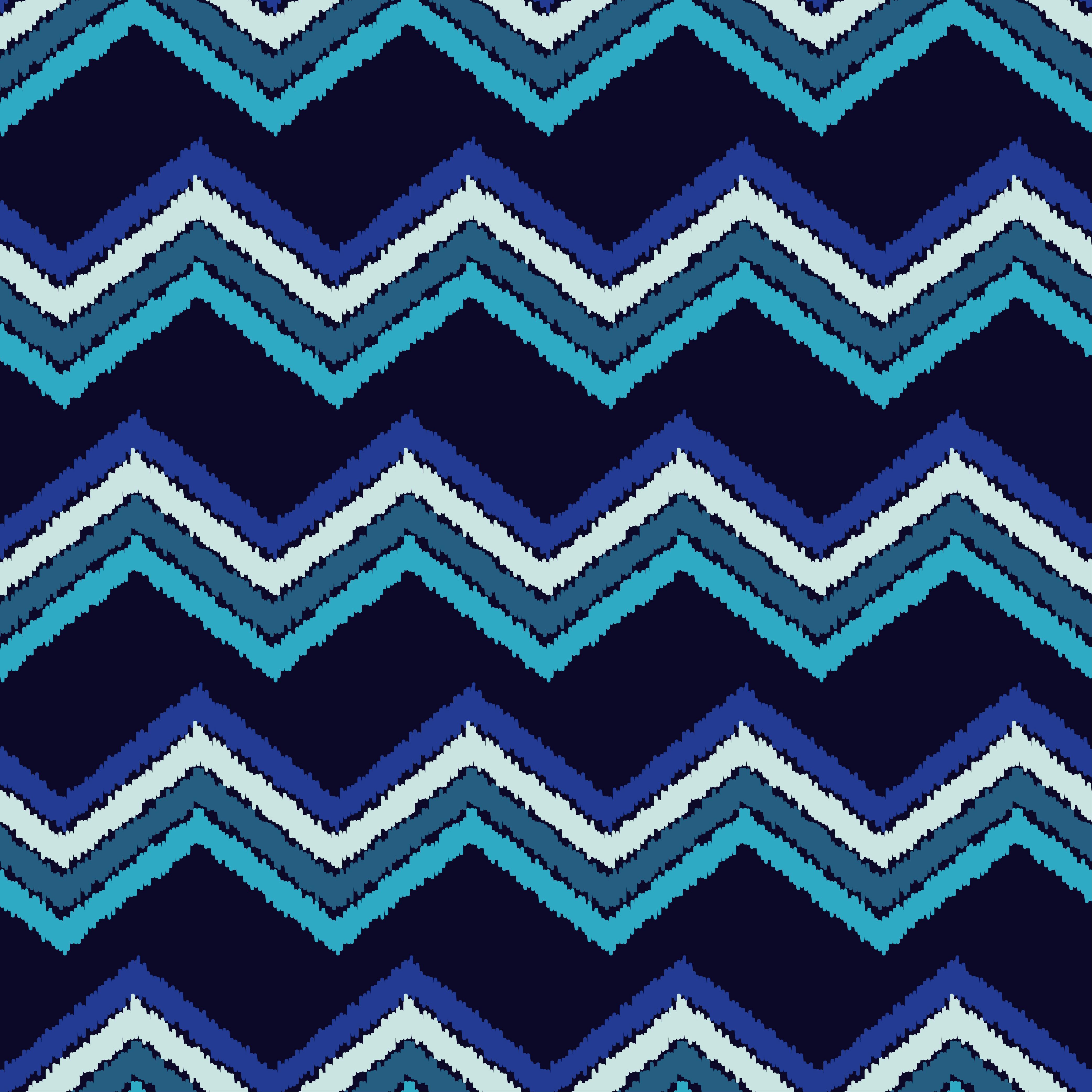Ethnic boho seamless pattern. Scribble zigzag texture.  example image 6