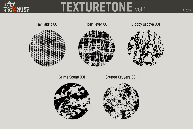 Texturetone Promo Pack. Vol 01 and Vol 02 example image 3
