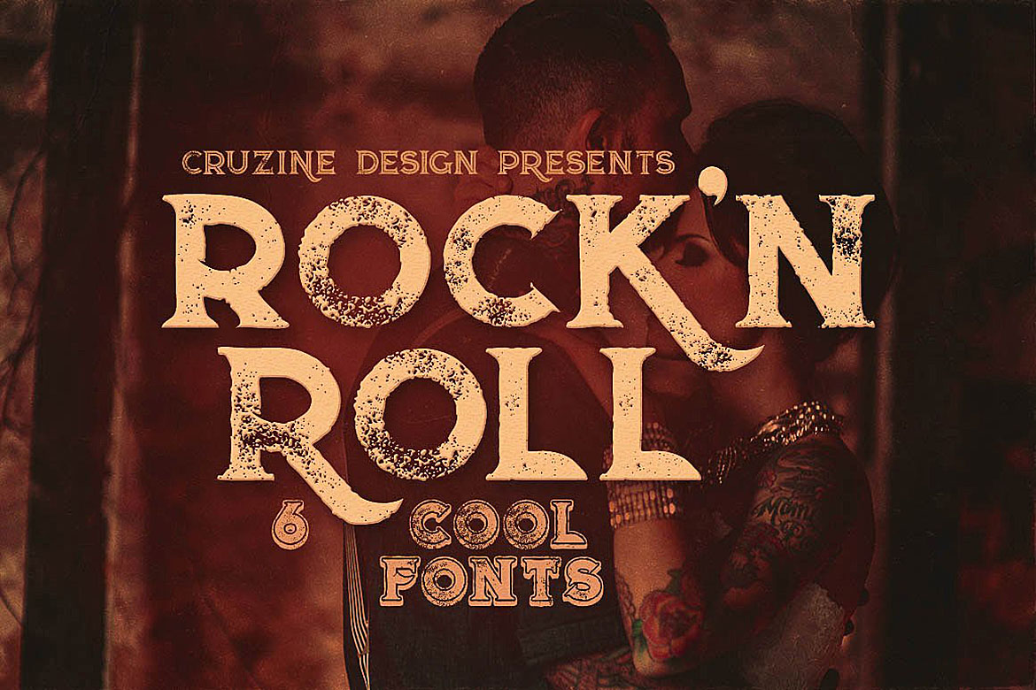 Rock'n Roll Typeface example image 1