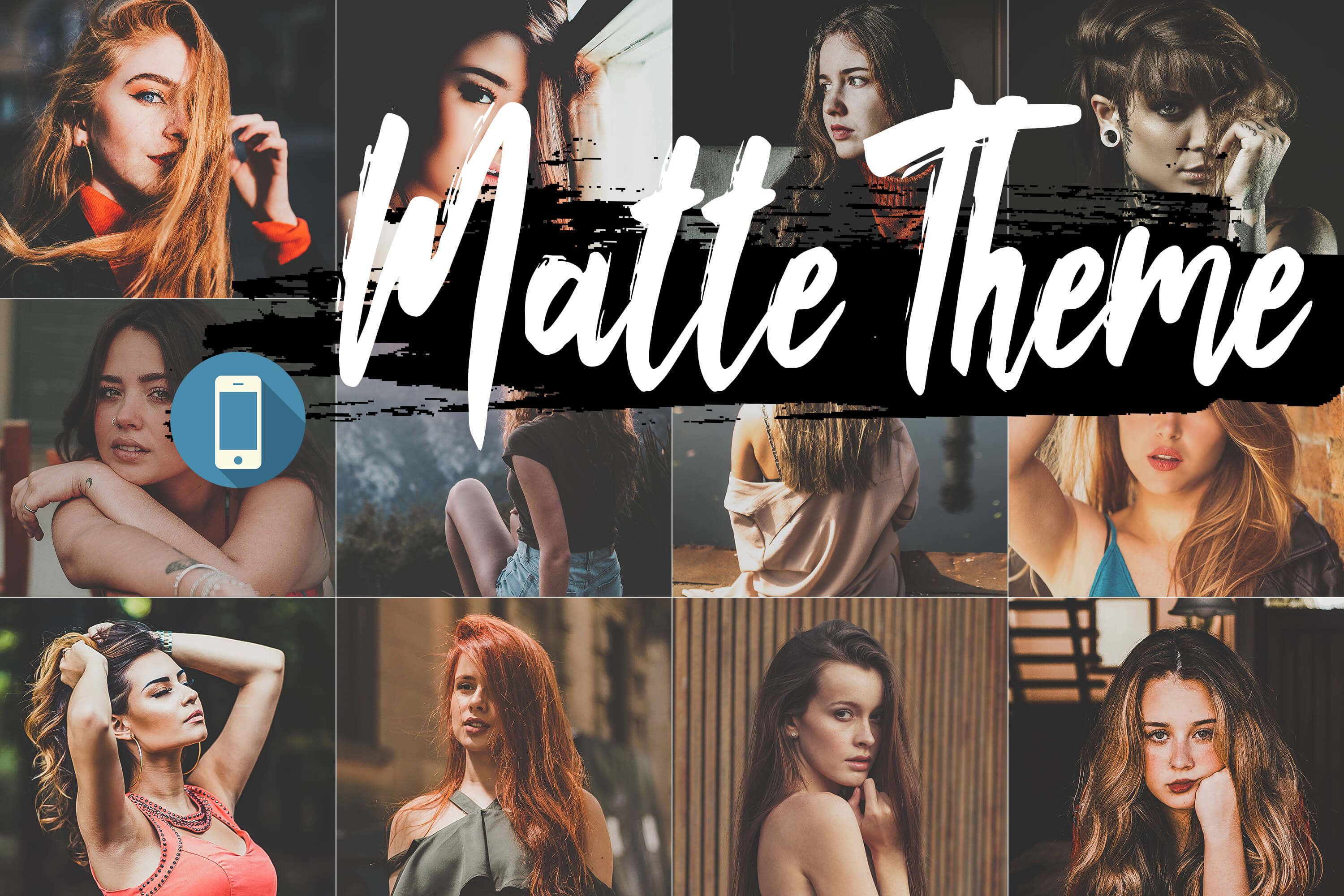 Neo Matte Theme mobile lightroom presets example image 1