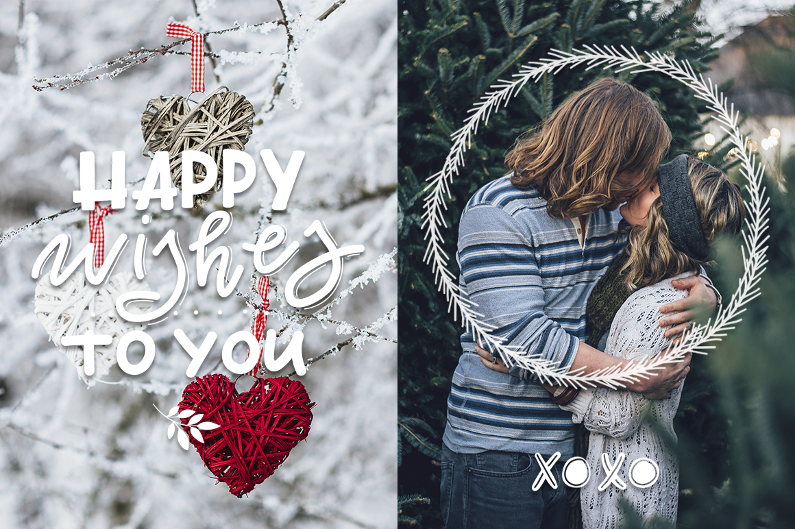 Winter and Christmas overlays example image 8