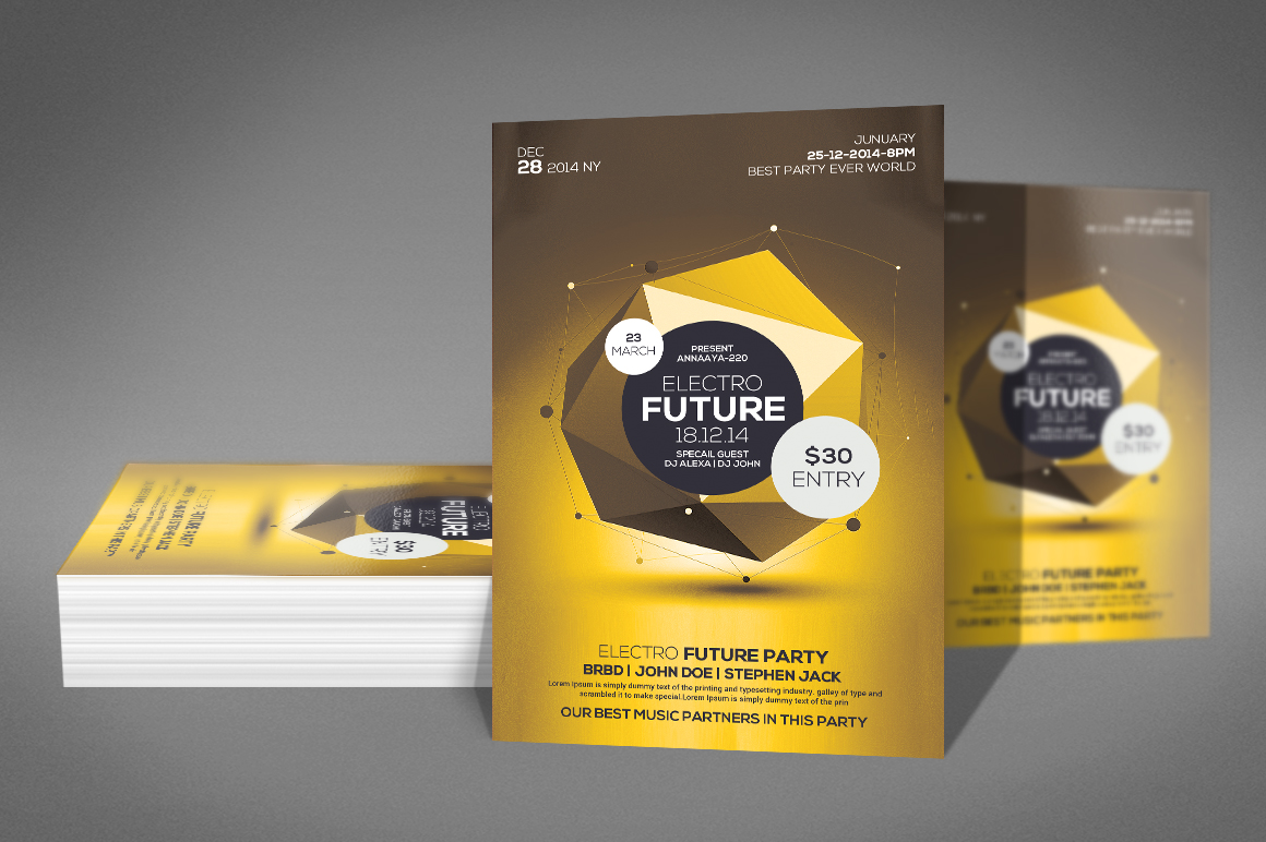 Future Flyer Template example image 2