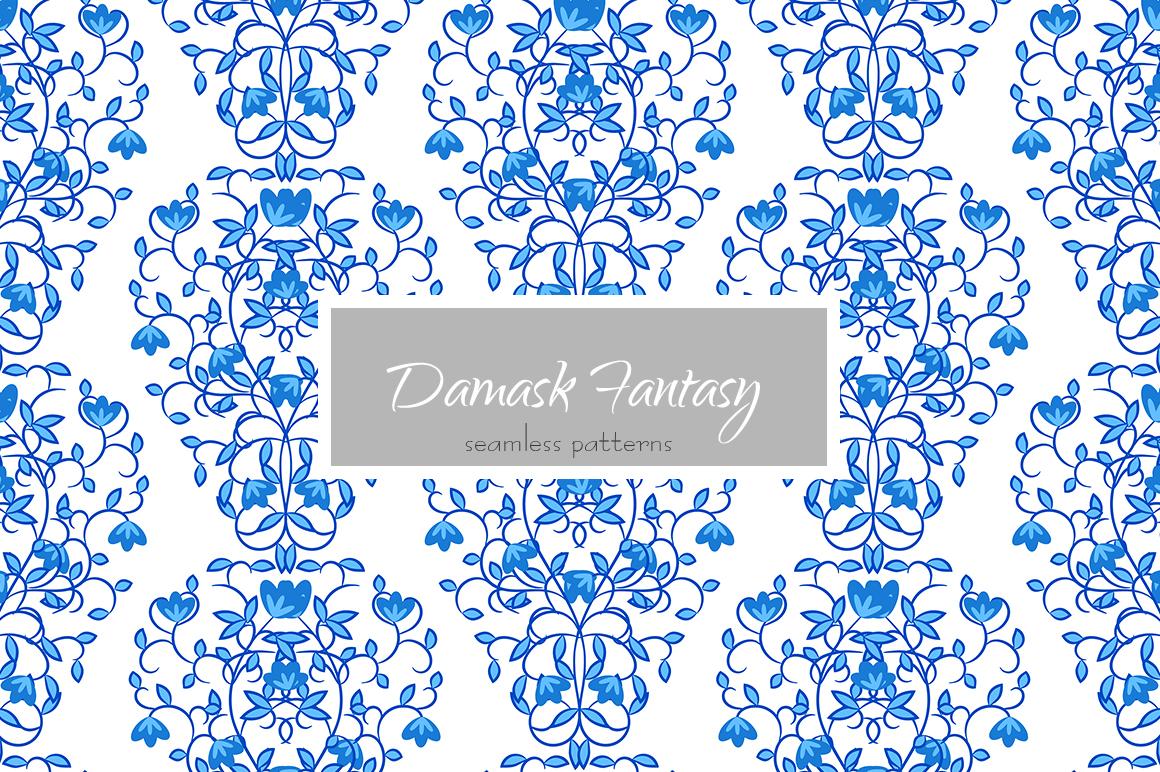Damask Fantasy Patterns example image 4