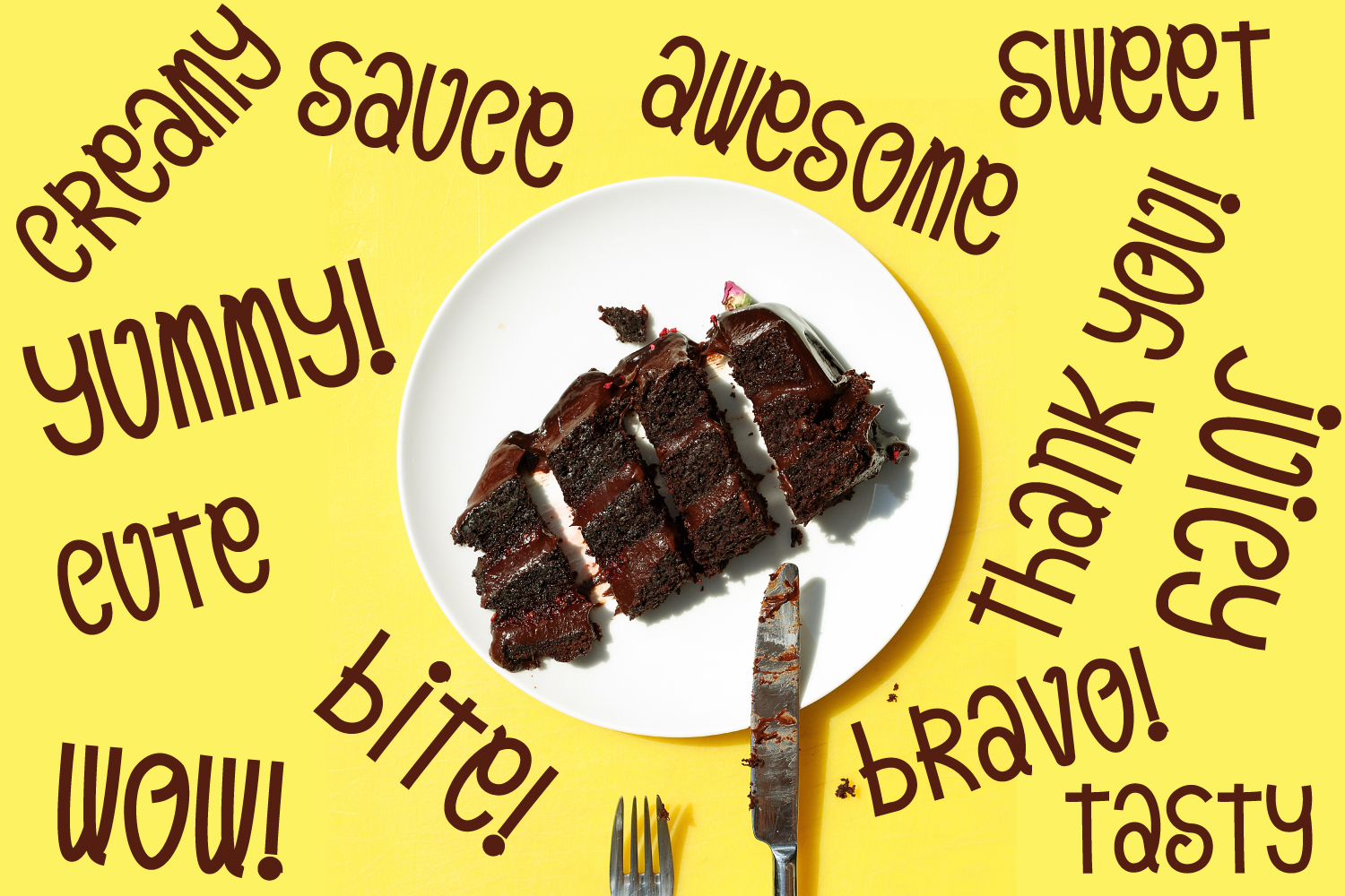 Orange Pulp : Sweet and Tasty Font example image 3