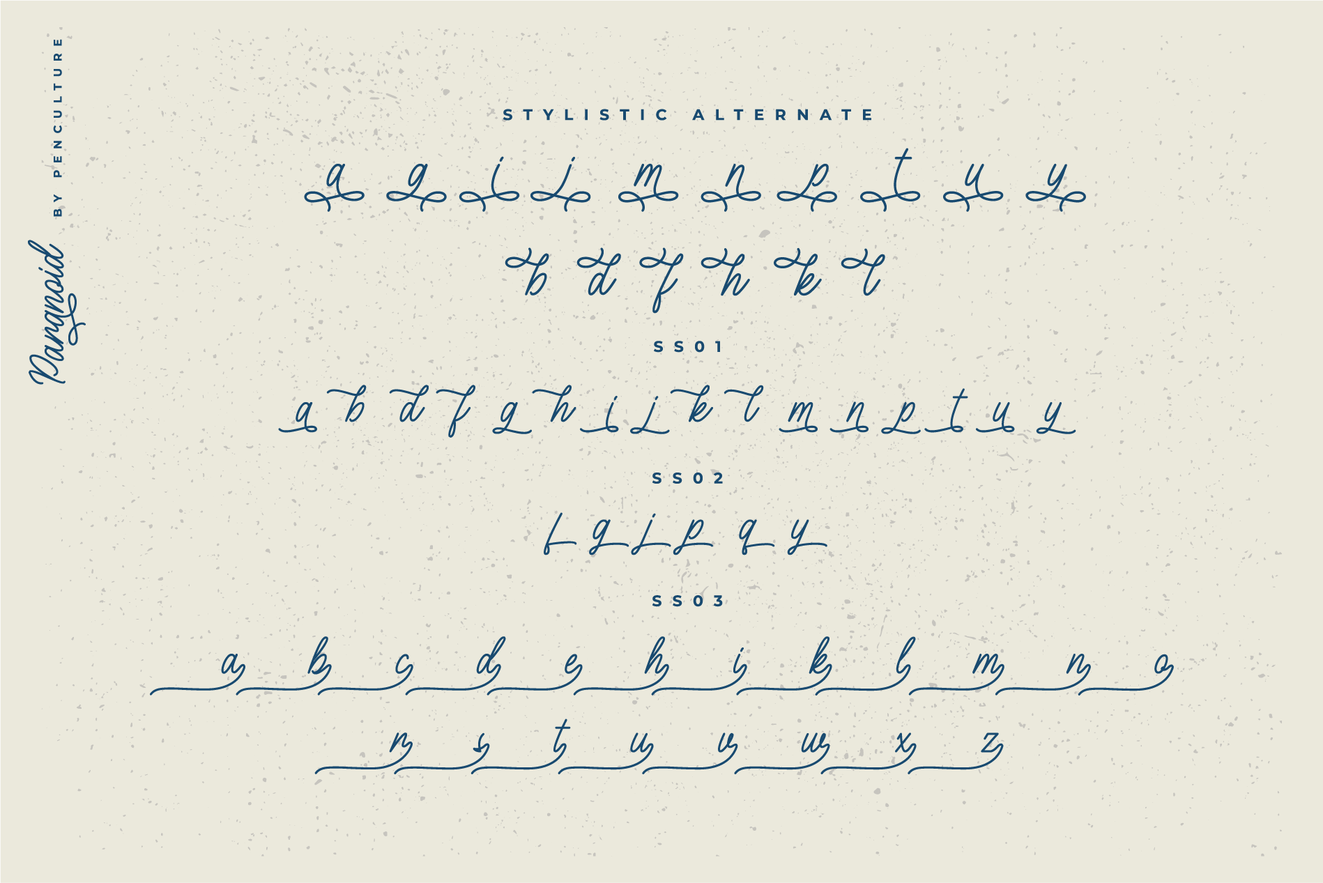 Paranoid - Elegant Monoline Font example image 9