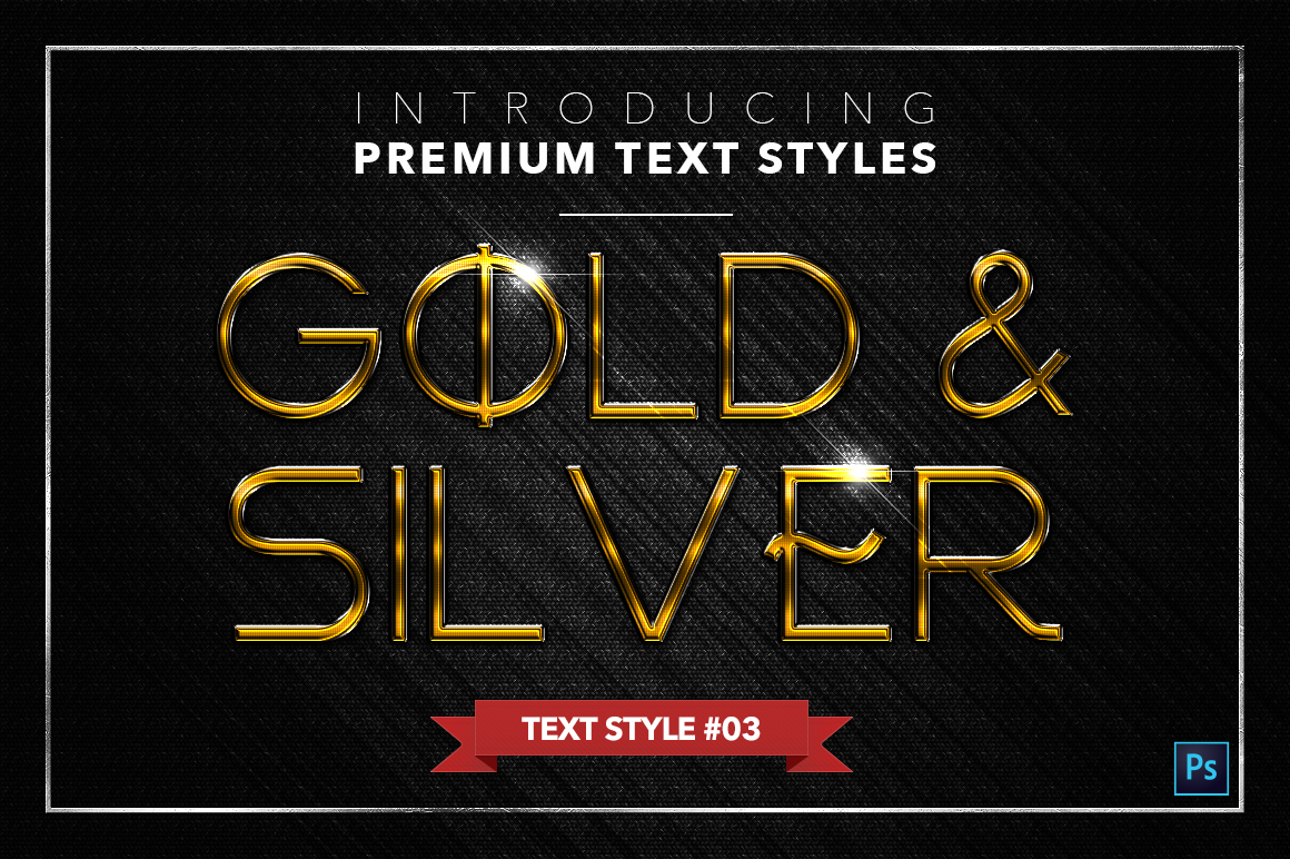 Gold & Silver #3 - 15 Text Styles example image 16