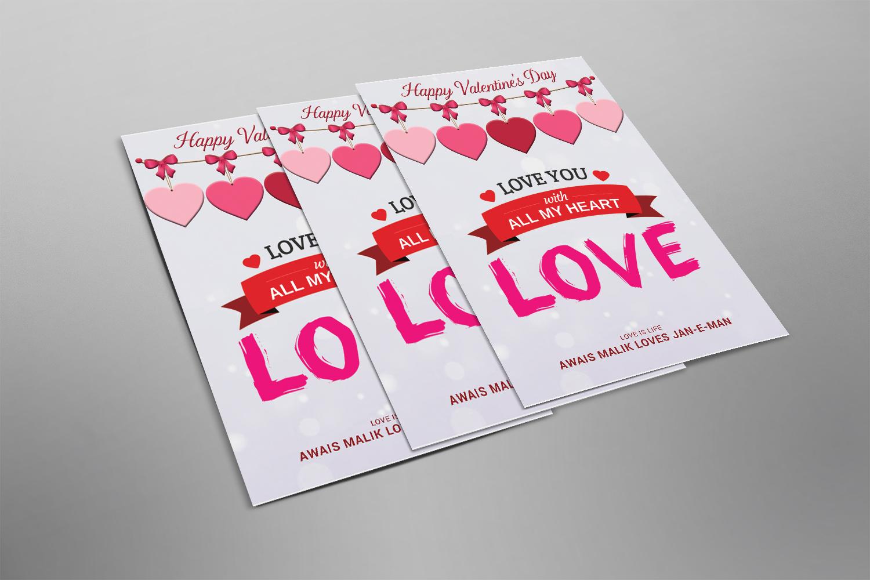 Valentine Flyer example image 2