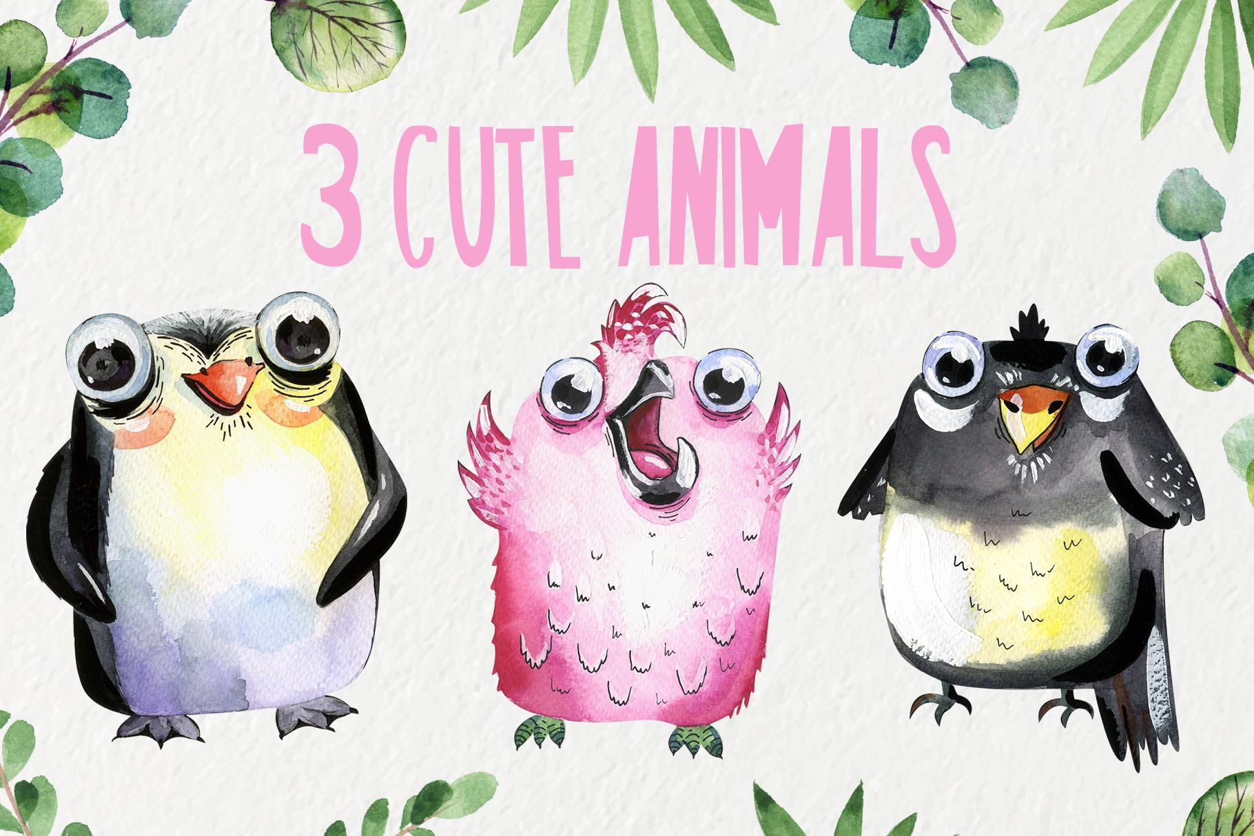 3 Cute animals example image 1