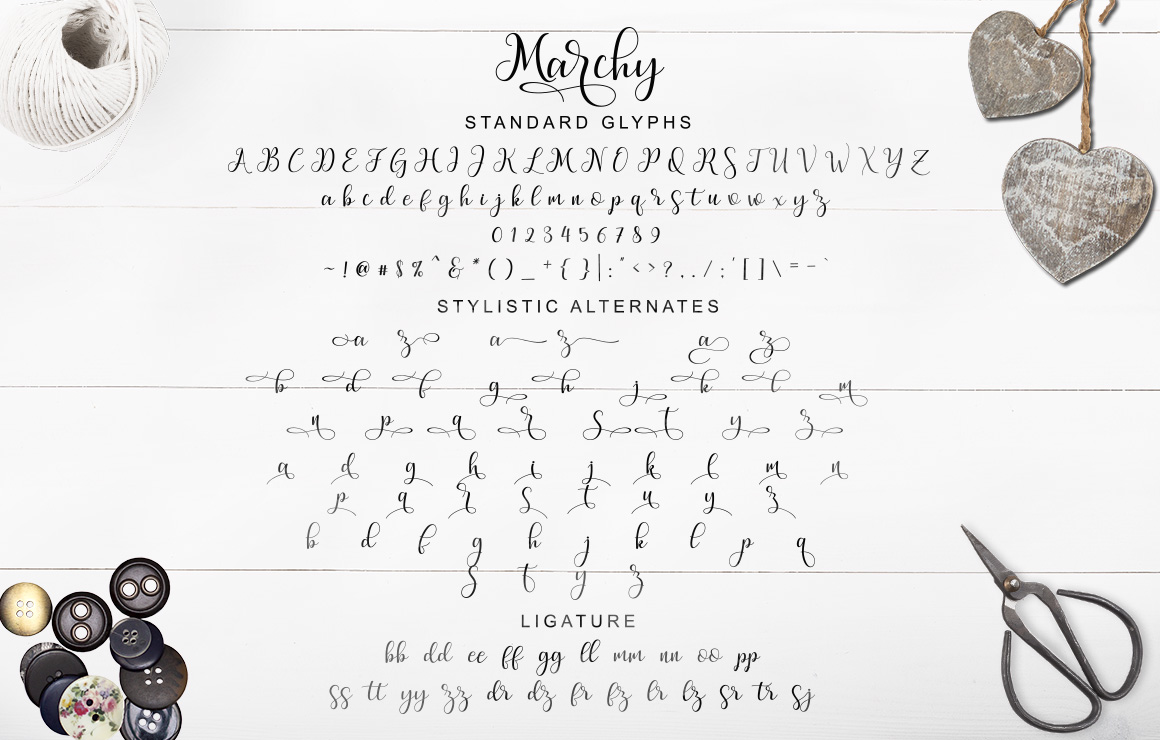 Marchy Script example image 12