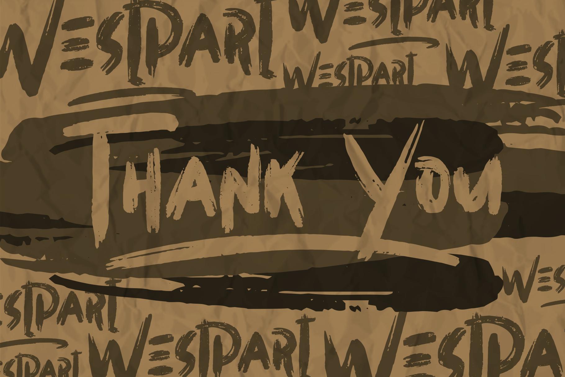 WESTPART - Brush Fonts example image 7