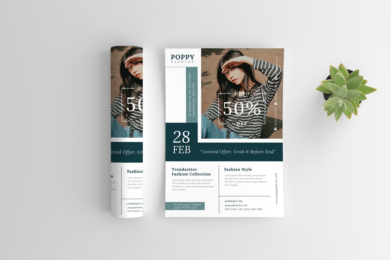Poppy - Fashion flyer example image 6