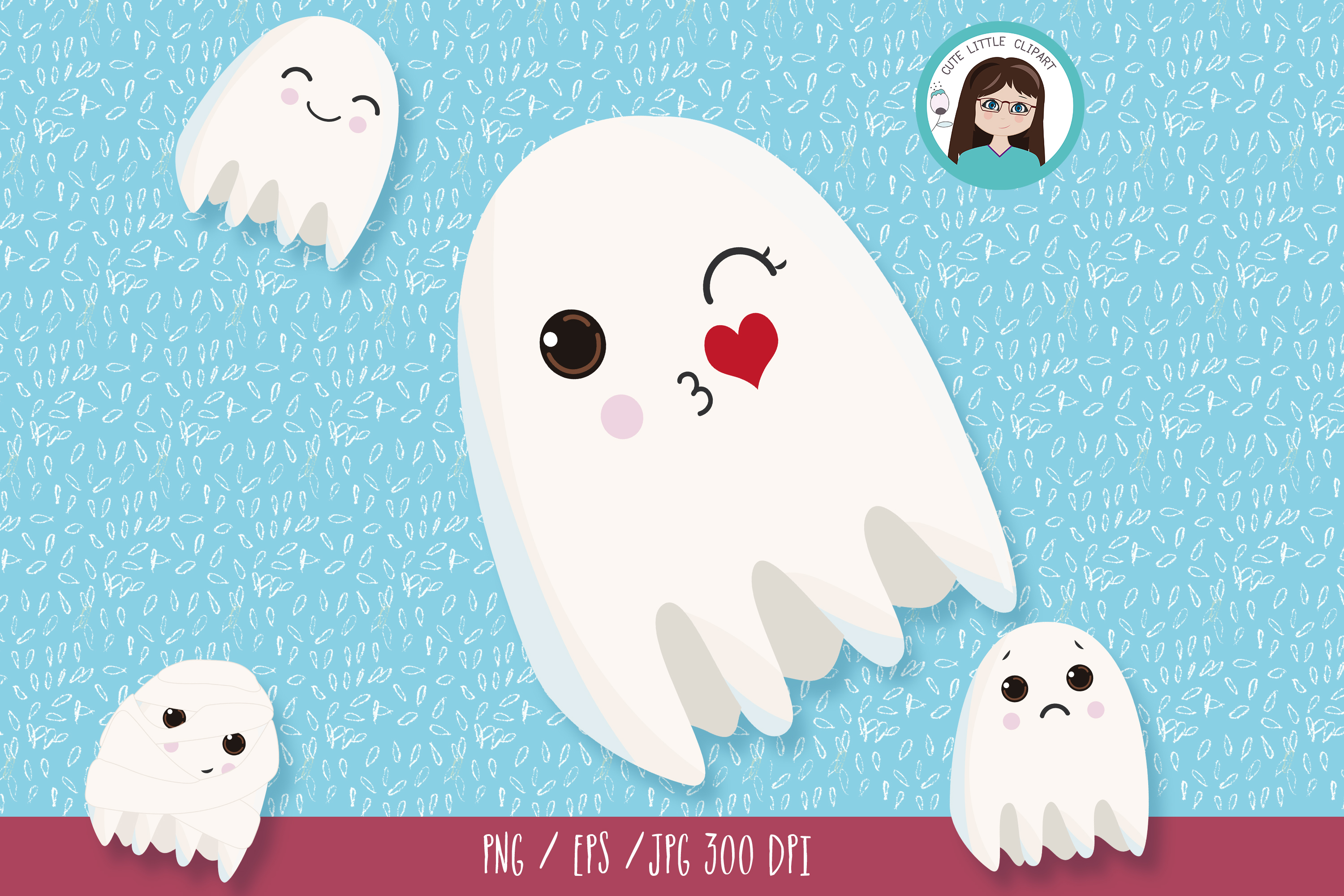 Ghost clipart example image 2