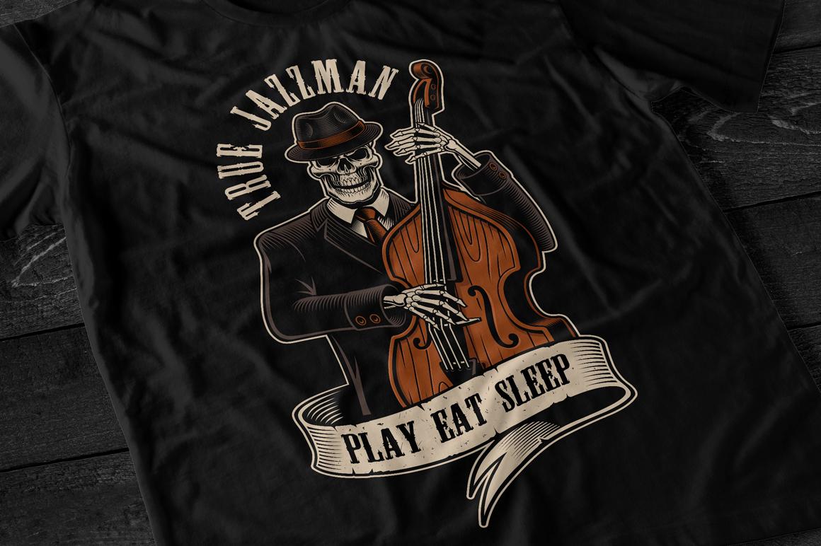 Skeleton Musician example image 2