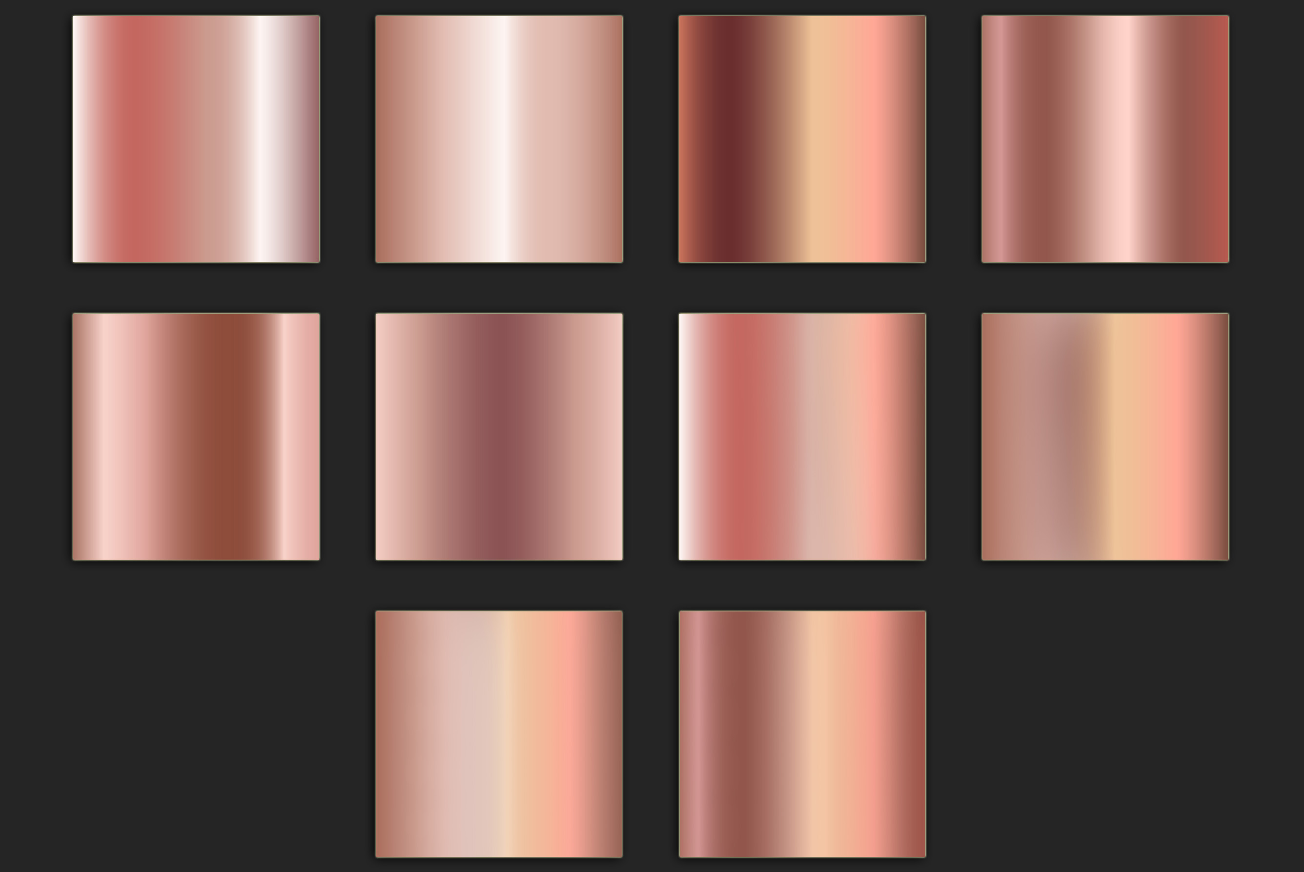 Rose Gold Foil Textures example image 3