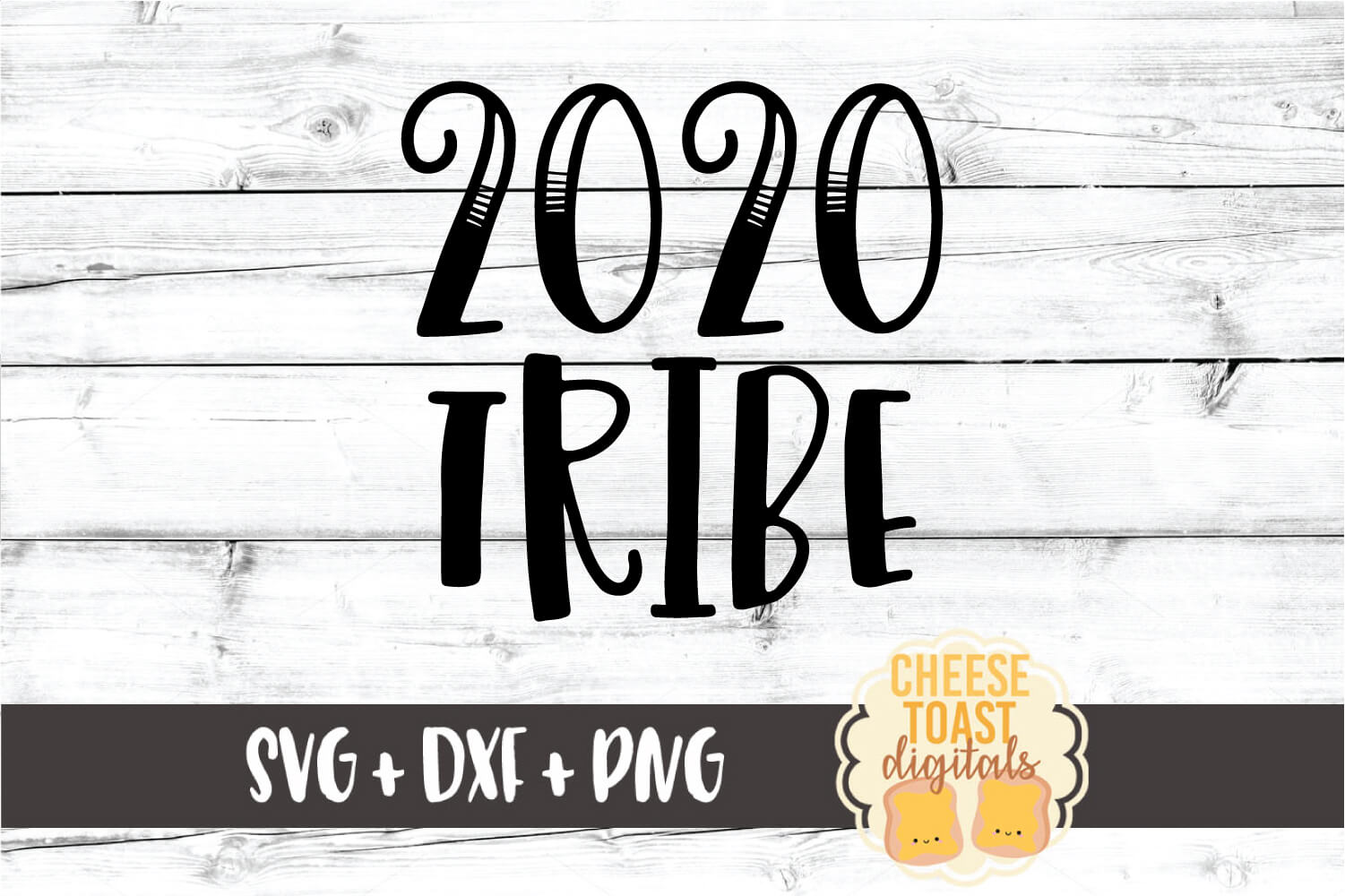 2020 Tribe - New Year SVG PNG DXF Cut Files example image 2