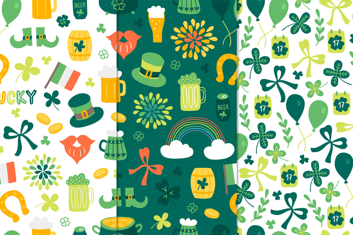 12 St. Patrick's Day Patterns example image 3