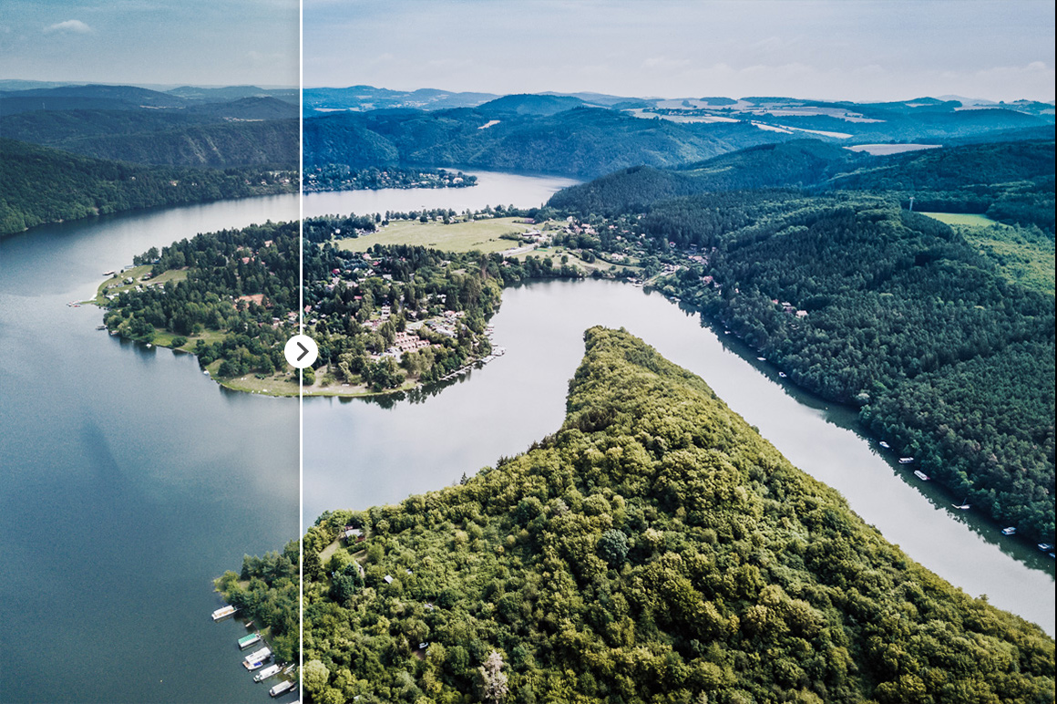 45 Lightroom Presets for Aerial Photography with Drones example image 8