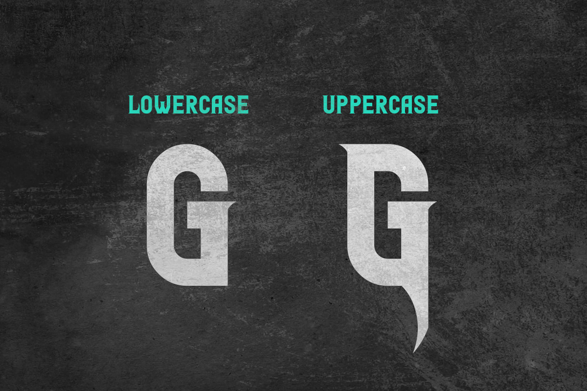 Glaive Typeface example image 4