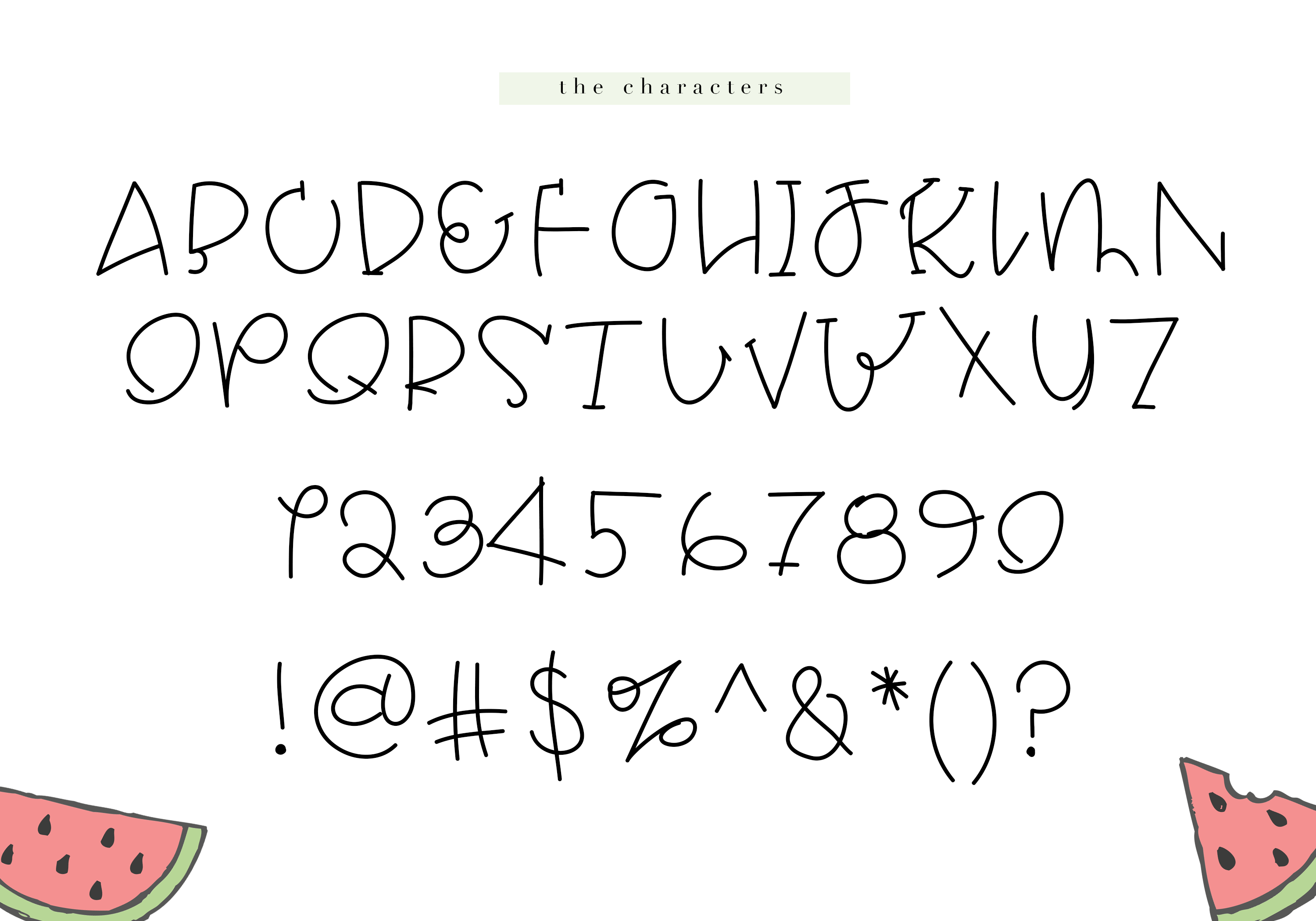 Melon - A Quirky Handwritten Font example image 8