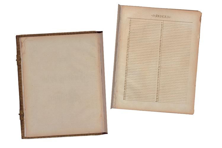 Victorian Era Antique Album Pages Photos Frames - Scrapbook example image 3