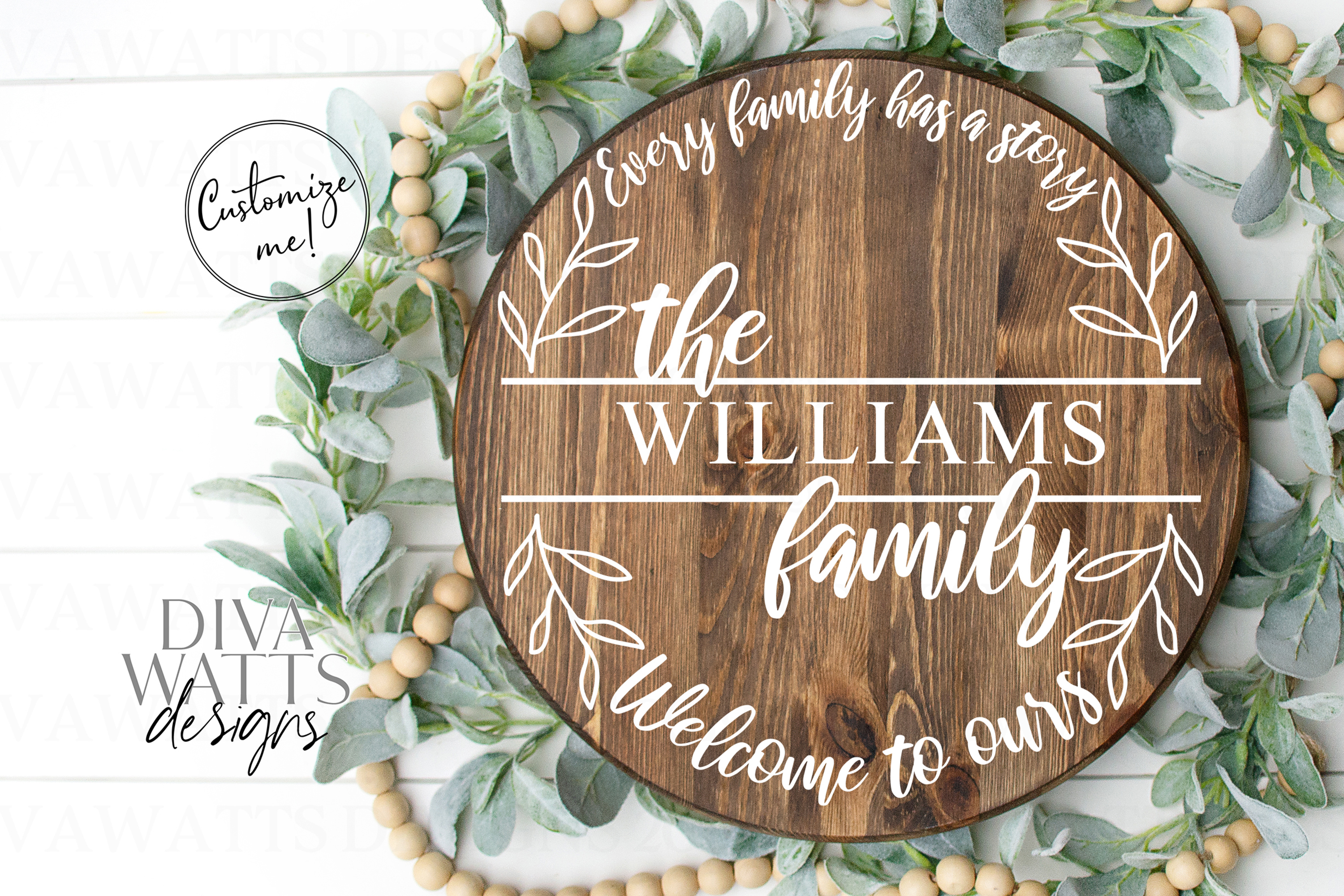 Every Family Has A Story Welcome To Ours - Last Name SVG example image 2