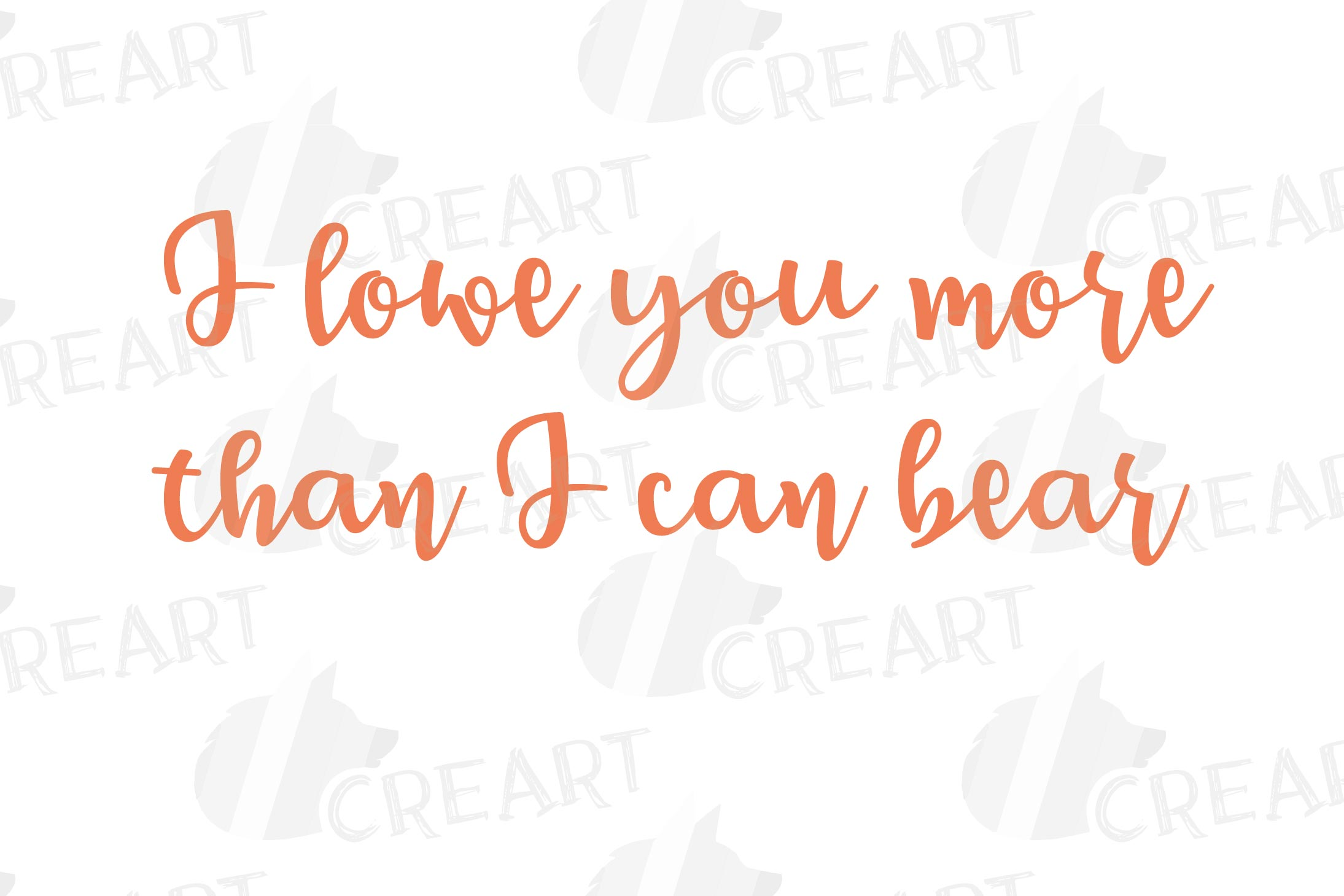 Baby and mama bear nursery clip art collection, bears print example image 5