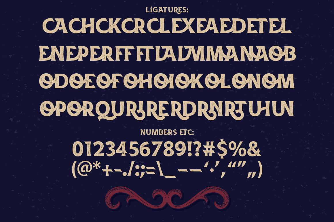 La Belman font & bonus example image 4