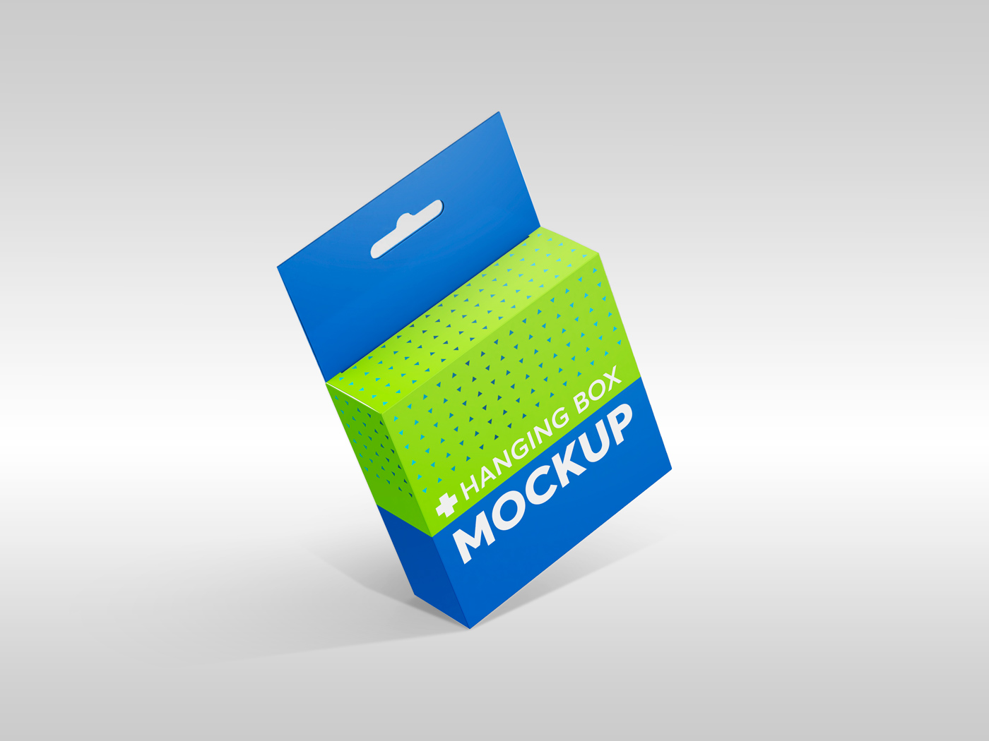 Flat Square Box with Hanger Mockup example image 9