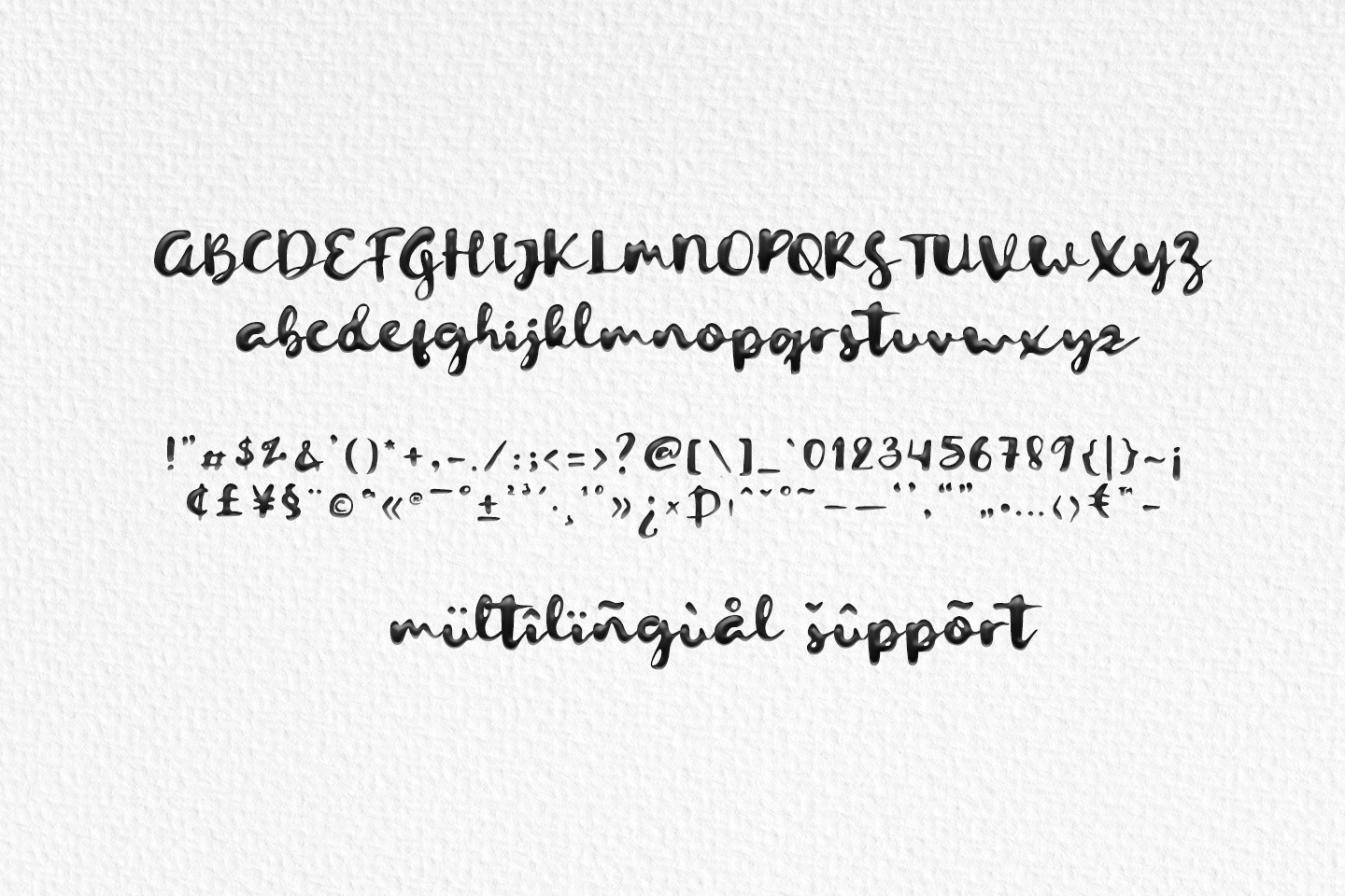 Letterink - inky script - example image 10