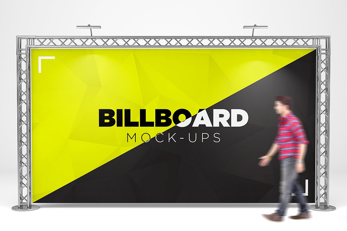 Billboard Trade Exhibition Mock-Up example image 1