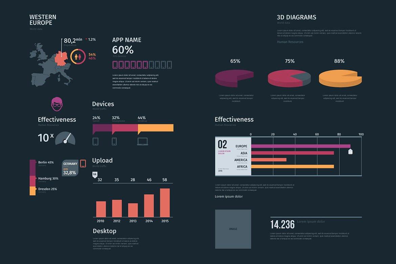 Modern infographics vol.01 example image 7
