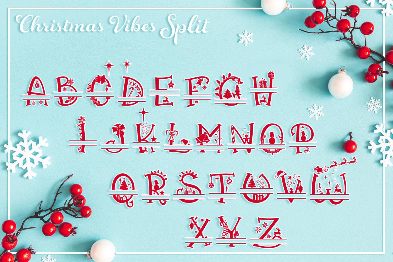 Christmas Vibes | A Whimsical Christmas Font example image 6
