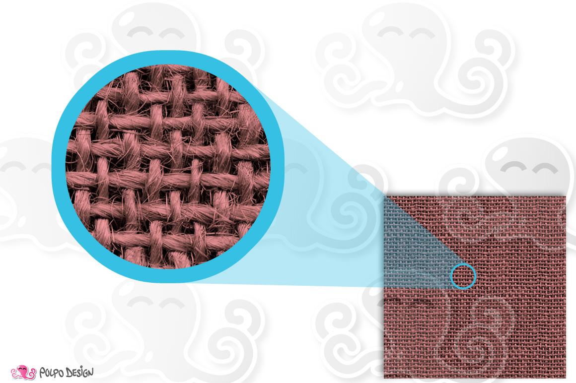 Pastel Burlap digital paper example image 3