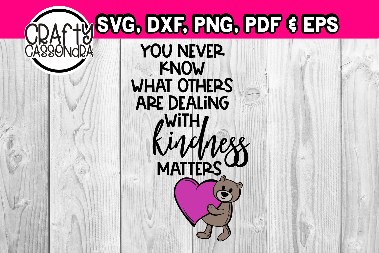 You never know what others are dealing with kindness matters example image 1