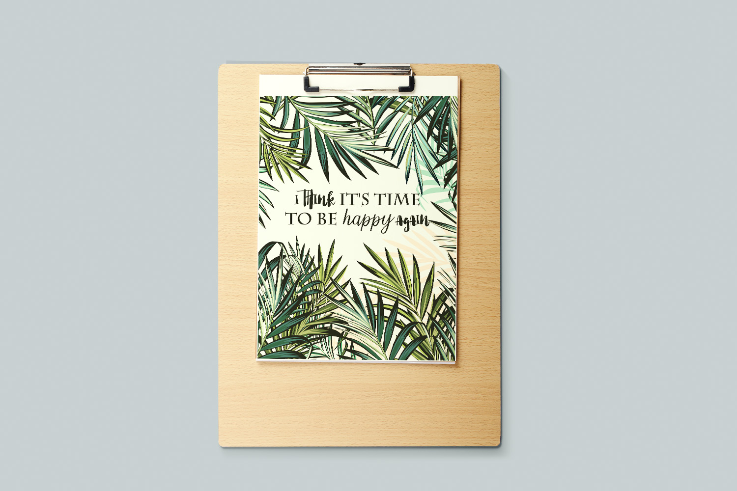 Palm leaf tropical background example image 4