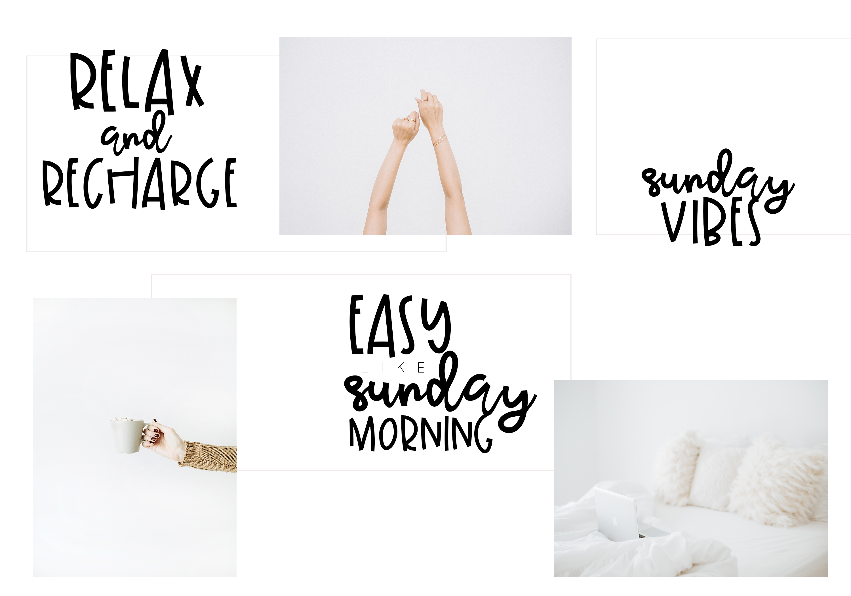 Sunday Morning - Script Font example image 3