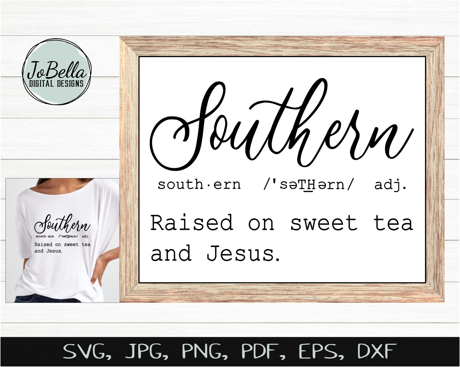 Southern Definition SVG, Sublimation PNG and Printable example image 2