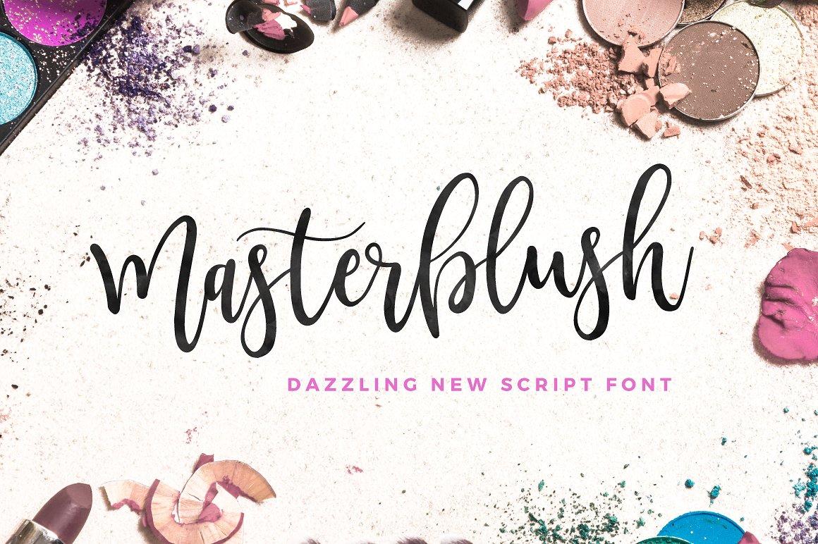 Masterblush Font example image 1
