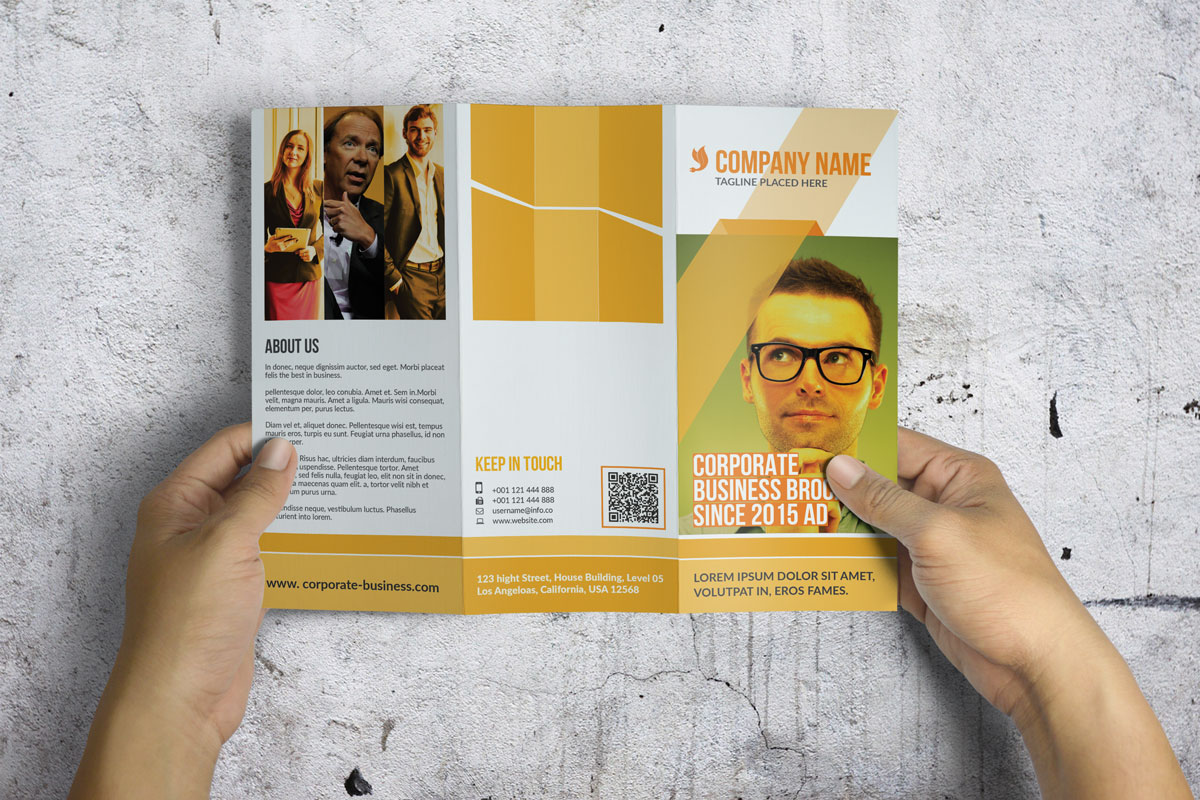 Trifold Corporate Brochure example image 6