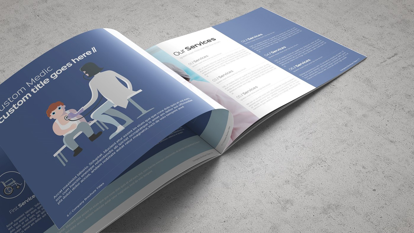 Health & Care Brochure Template example image 5
