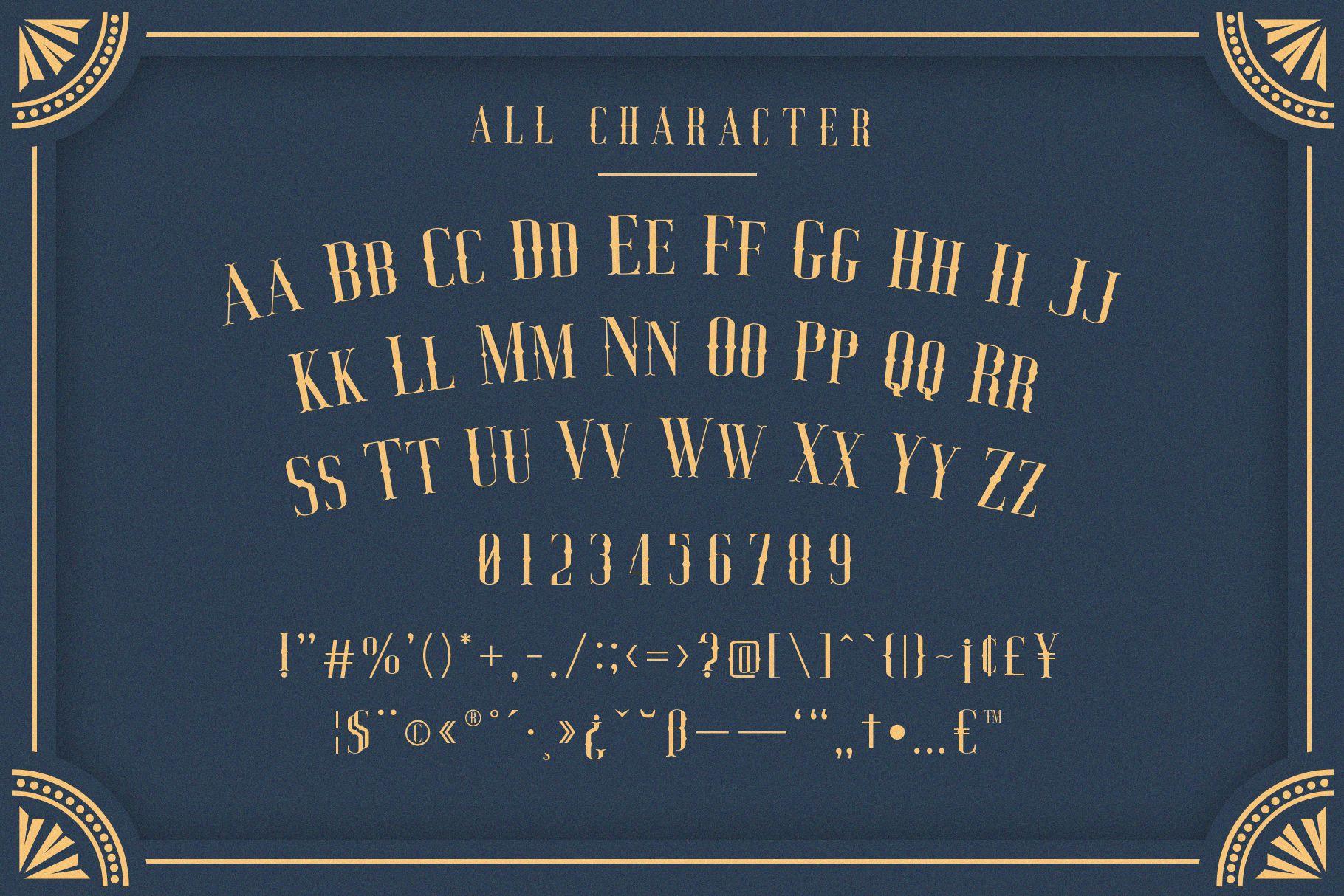 Jocker - Vintage Serif Font Family example image 7