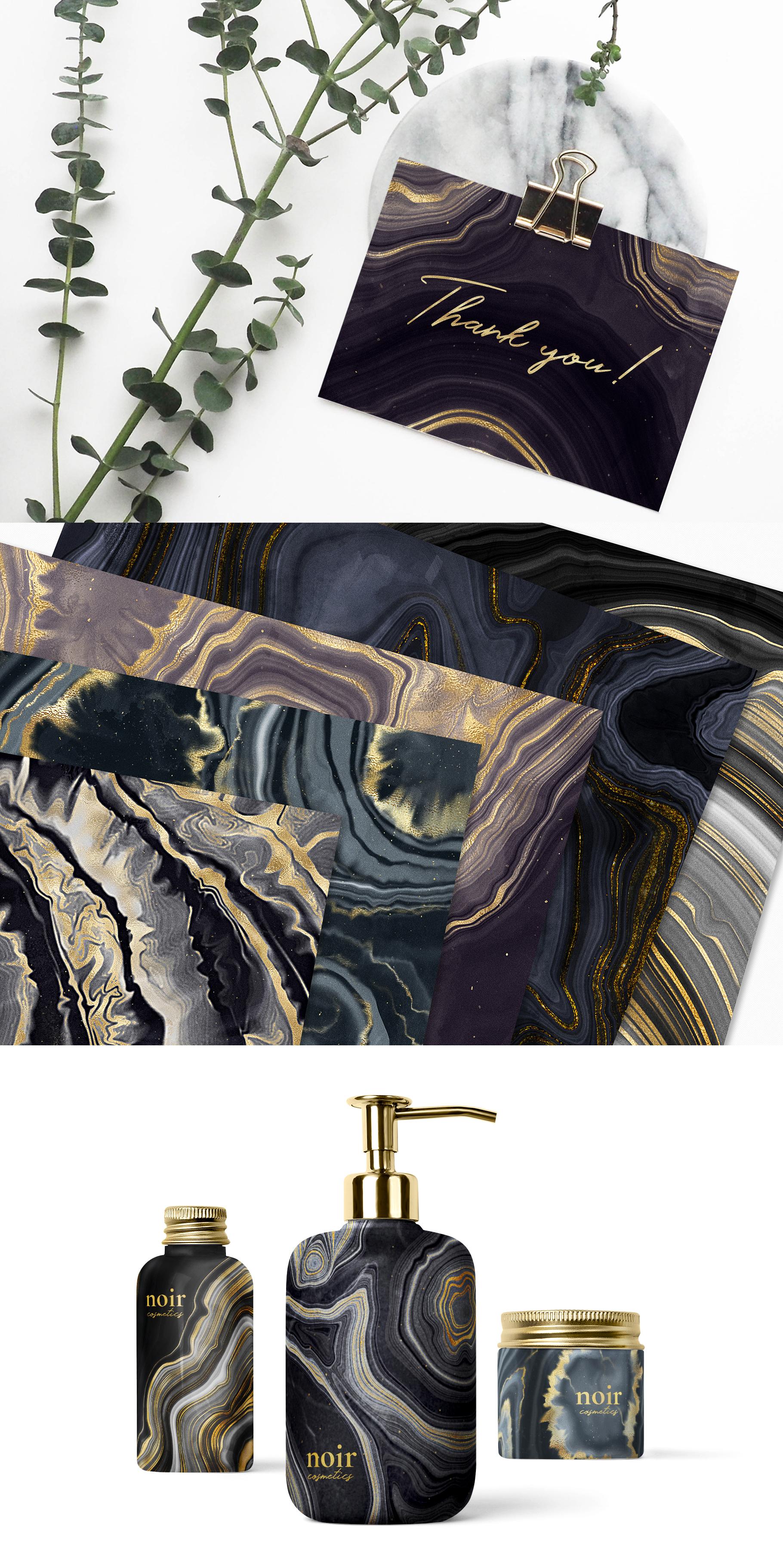 Noir - Patterns & Textures Bundle example image 18