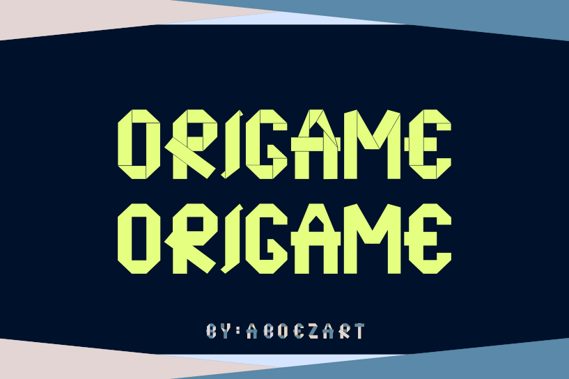 Origame example image 5