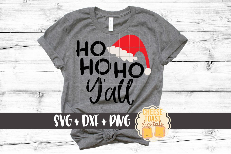 Ho Ho Ho Y'all - Christmas SVG Files example image 1