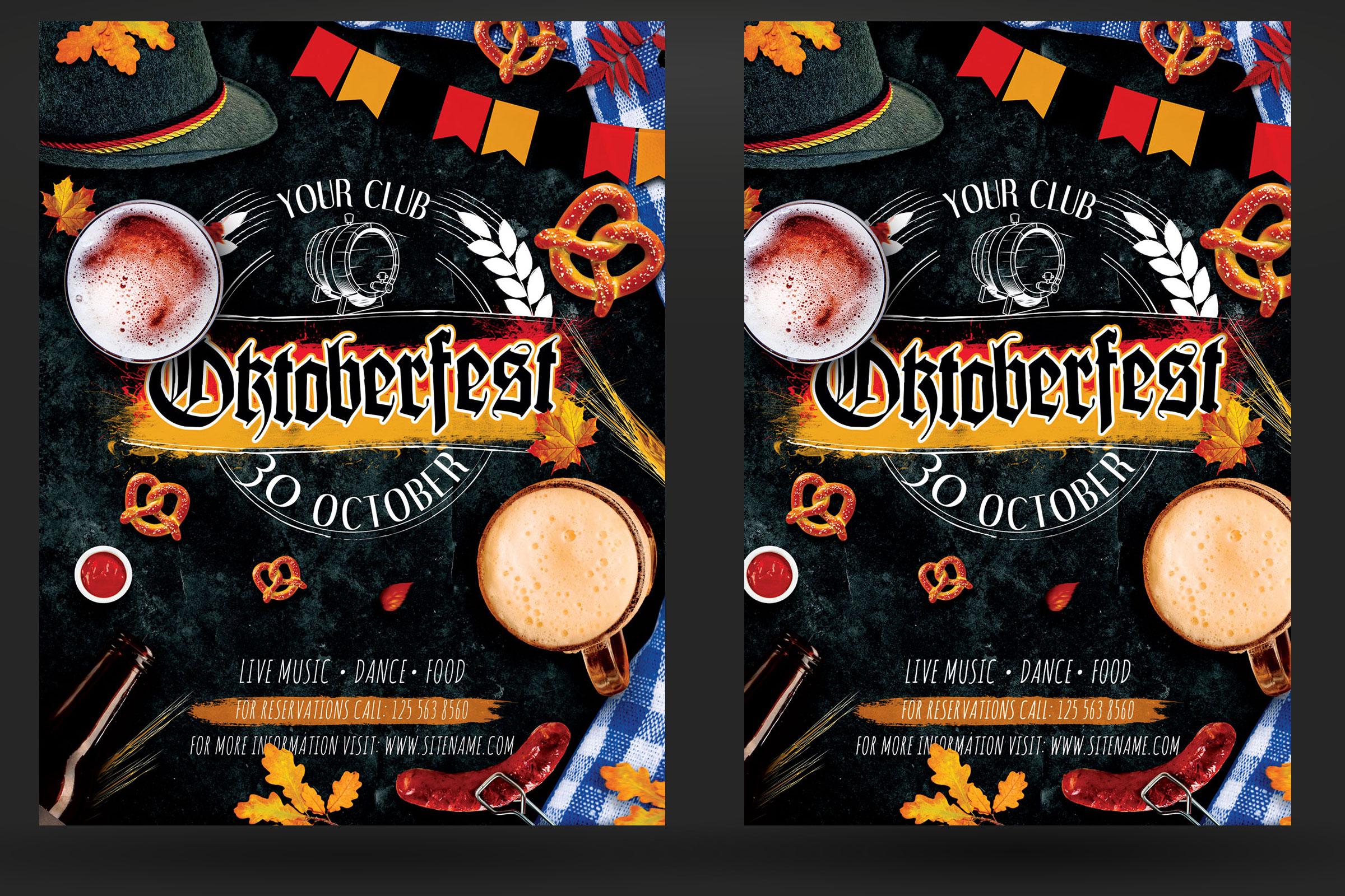 Oktoberfest Octoberfest Festival Flyer example image 2