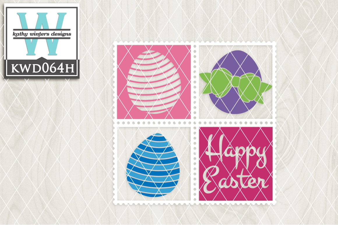 Easter Cutting File KWD064H example image 1